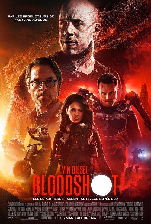 """Bonsoir a l'honneur : """" Bloodshot """""""