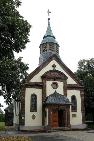 La chapelle actuelle (1930-1932)