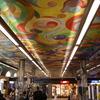 Le plafond dela gare de Perpignan