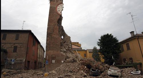 Le séisme en Italie