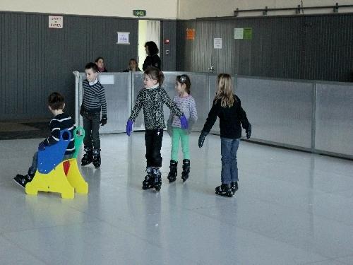 La patinoire a repris du service, salle Désiré Vêque, pour les vacances d'hiver 2013...
