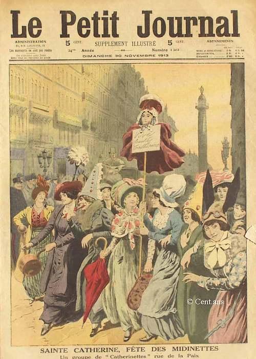 25 Novembre : Fête des Catherinettes