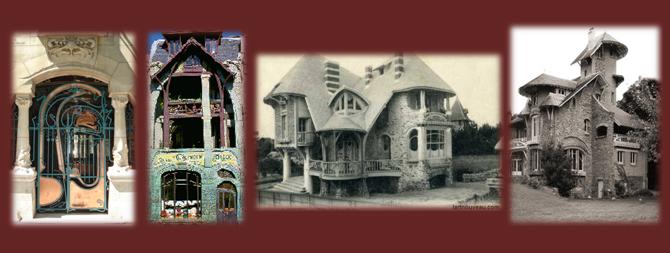 Hector Guimard : l'esthétique des lignes courbes de l'Art Nouveau