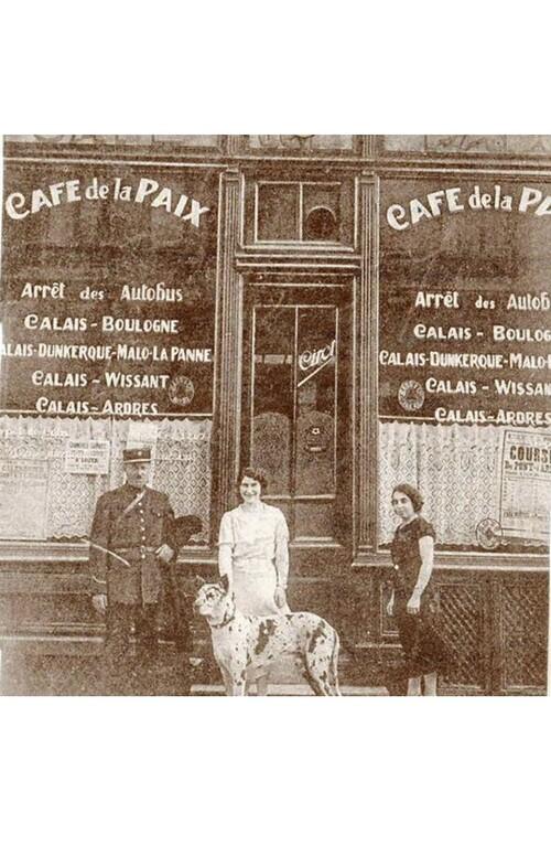 Le café de la Paix rue Darnel