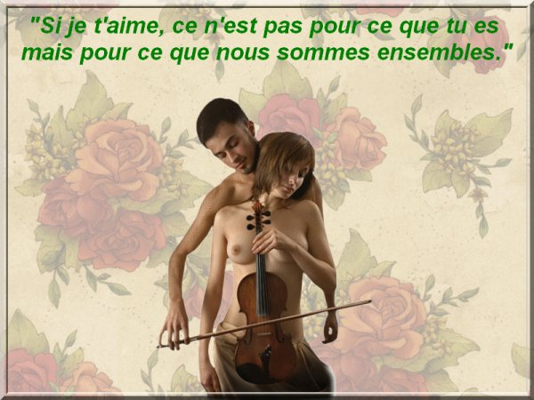 Si je t'aime...............