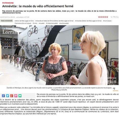 Musée Chapleur dernières nouvelles