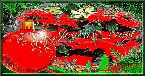 bannière Noël cadeau servez vous
