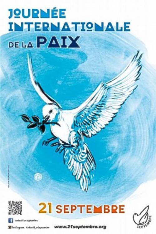 Exprimons notre volonté de vivre en Paix  dans un monde de solidarité, de justice et de fraternité