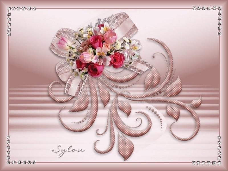 Le bouquet élégant