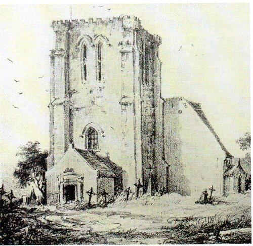 L'église de Pétresse rasée pour y construire l'hôpital