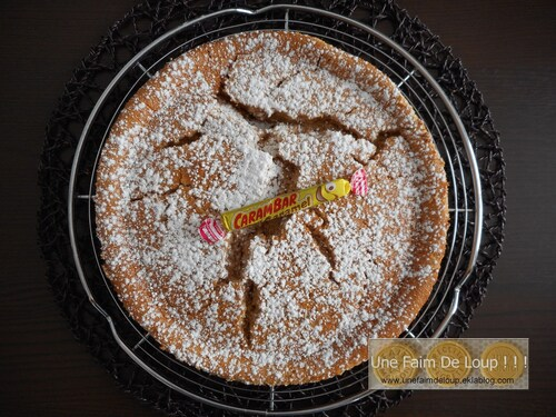 Gâteau magique aux carambar caramel