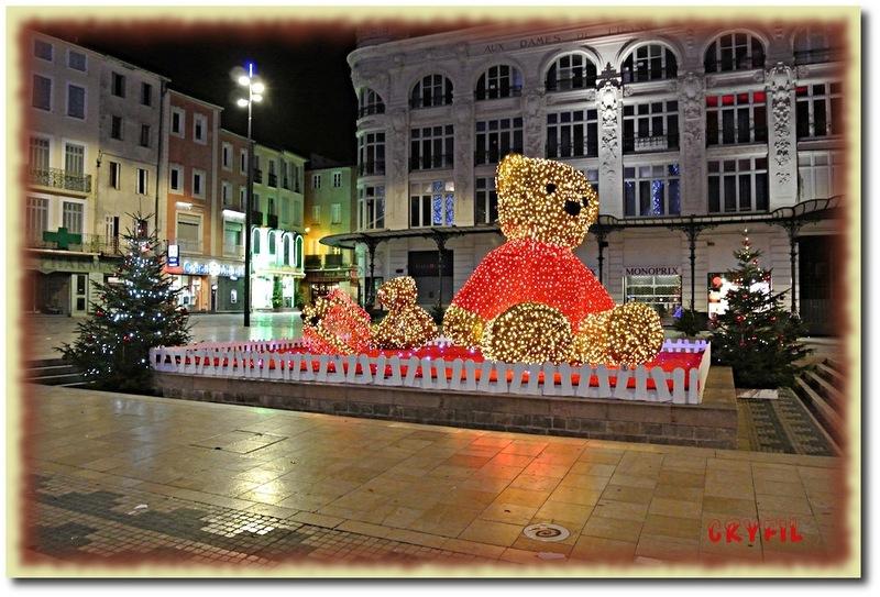 Dernières illuminations de Noël