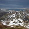 Du sommet du pic Lasnères (2000 m) (photo du 6 01 2011)