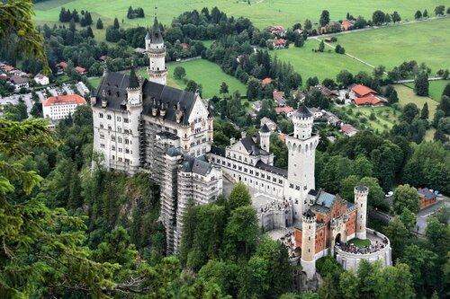 ALLEMAGNE. Neuschwanstein, Château de, Visite (Voyages)