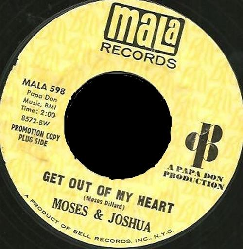1968 : Single SP MaLa Records MALA 598 [ US ]