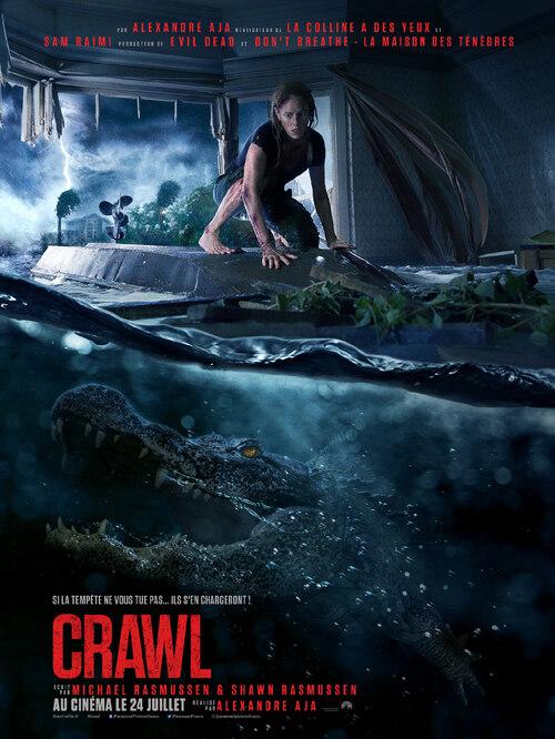 Découvrez la bande-annonce de CRAWL, un film d'Alexandre Aja avec Kaya Scodelario. Au cinéma cet été