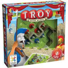 Les murailles de Troie