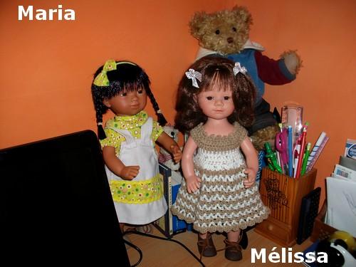 Mélissa, déjà habillée maison ?