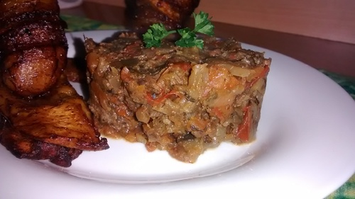 Sauté de choux et ses plantains_La cuisinette de Laurette