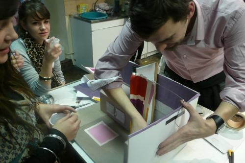 Atelier avec Max Ducos