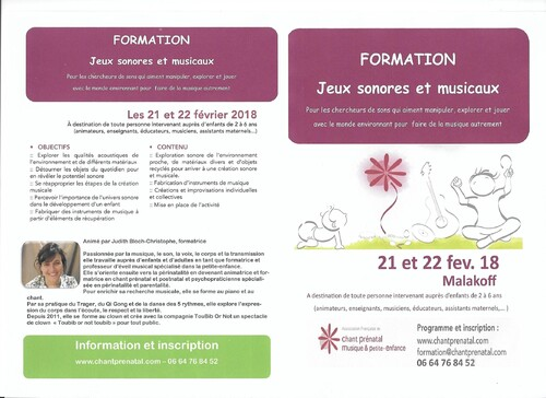 Association Chantprenatal de malakoff