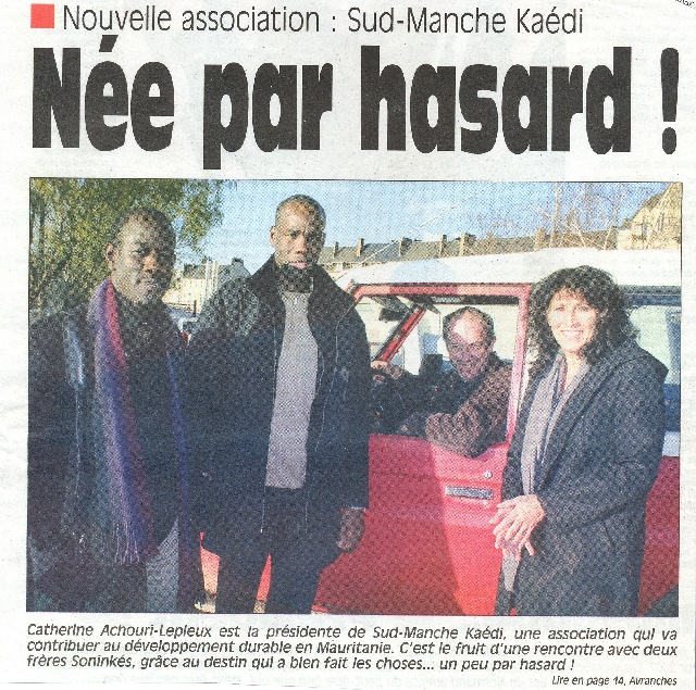 Juillet 2006 - OUEST FRANCE 1/2