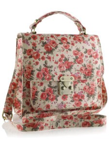 printed satchel