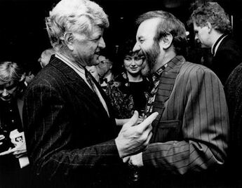 Ted Kennedy et Colm Wilkinson