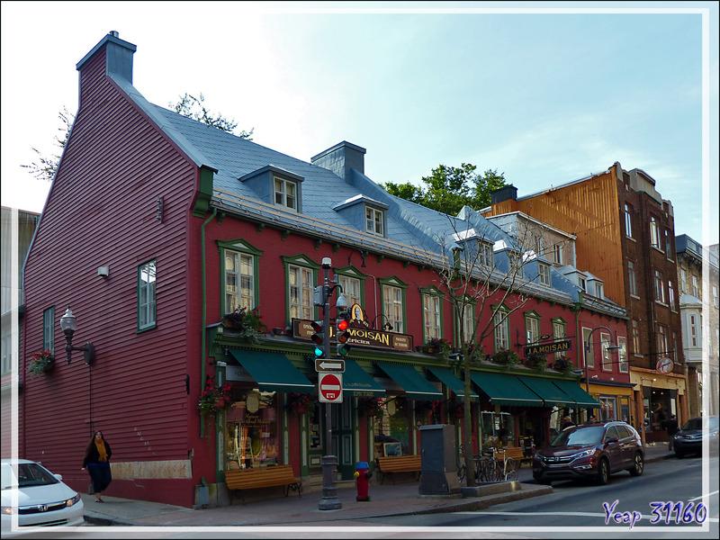 Sur le trajet vers le vieux Québec - Canada