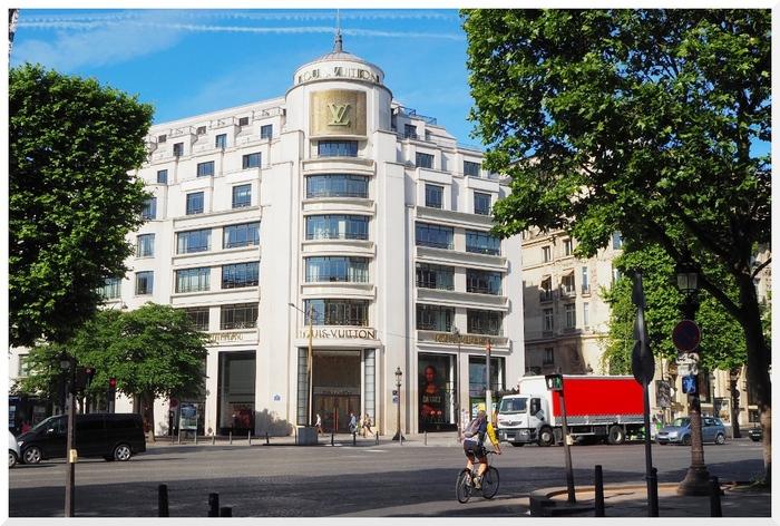 Flâner aux Champs-Elysées