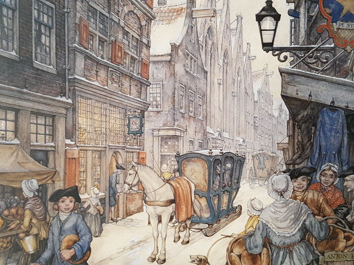 Dame Hiver (Dame Holle) - Wilhelm & Jacob Grimm (1785-1863) -