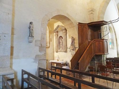 L'église de Savoisy...
