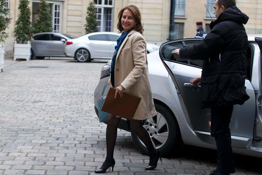 La ministre de l'écologie et de l'environnement, Ségolène Royal, à Paris, le 18 février 2016.