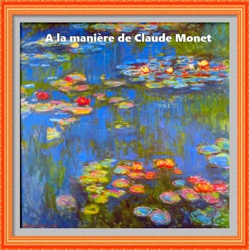 Dessin et peinture - vidéo 2662 : La peinture et la technique de Claude Monet.