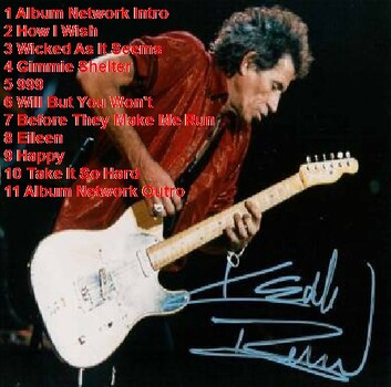 Live : Keith Richards - Boston FM - 13 février 1993