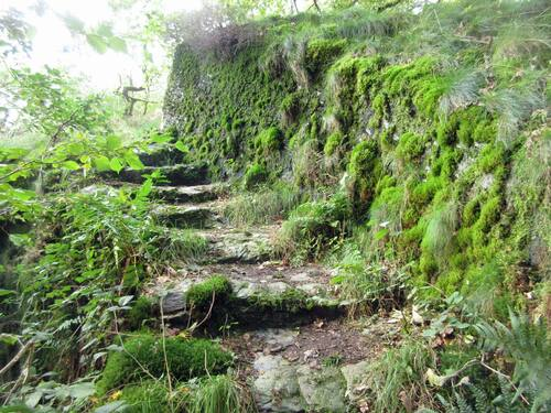 Escalier vers le bastion Nord