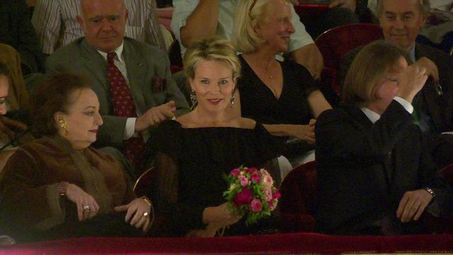 Mathilde à l'opéra
