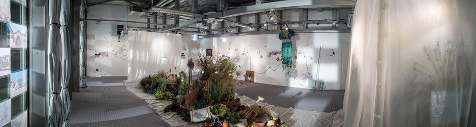 Correspondances, herbier pour un jardin nomade. Duo Giorgia Volpe Annick Picchio