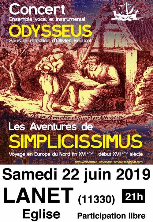 Le 22 à Lanet Concert Odysseus