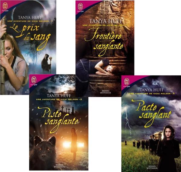 Les aventures de Vicki Nelson de Tanya Huff