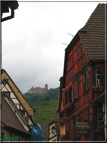 ALSACE JUIN 2010 RIBEAUVILLE CHATEAU ST ULRICH