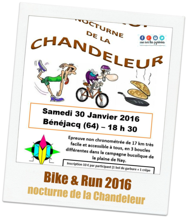 Bike & Run 2016 nocturne de la Chandeleur
