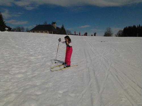 Au ski de fond