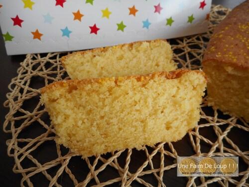 Cake au citron et aux amandes