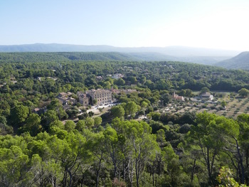 Panorama sur le village