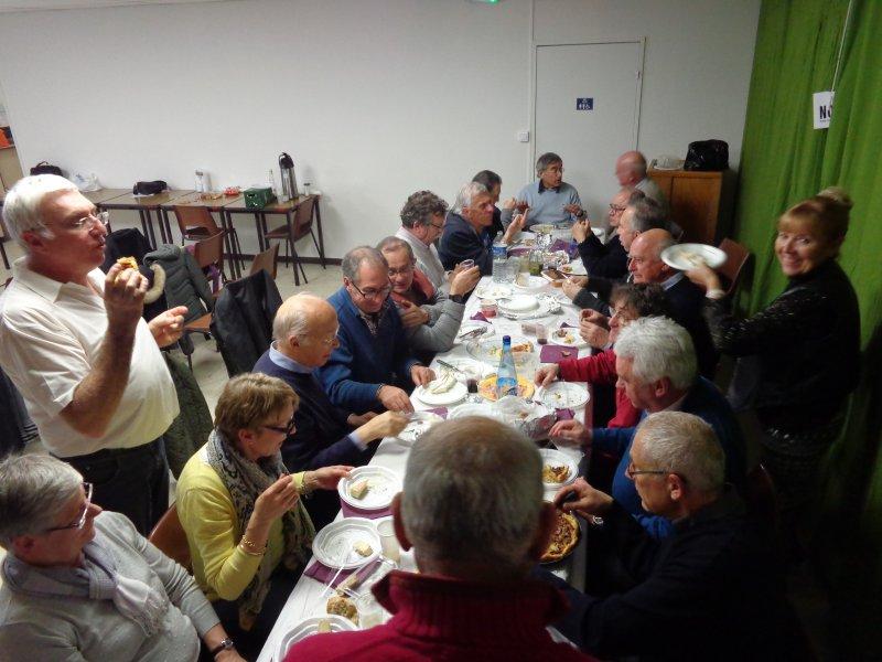 Le banquet des joyeux Evammiens