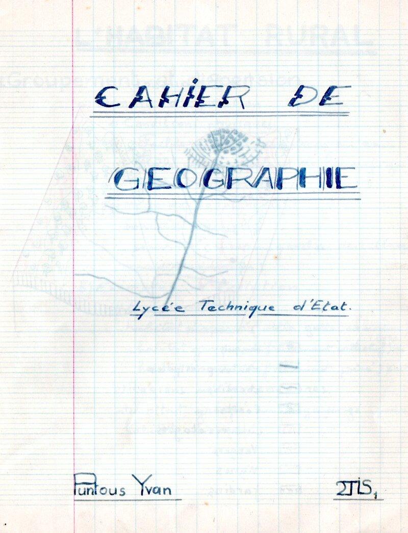 Souvenir du Lycée Déodat de Séverac (Toulouse), année scolaire 1962/63