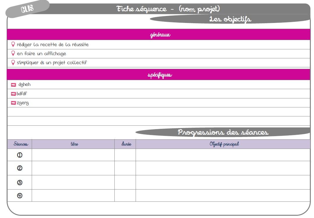 Connu Trames diverses fiches de prep - la Fouine en clis TU29