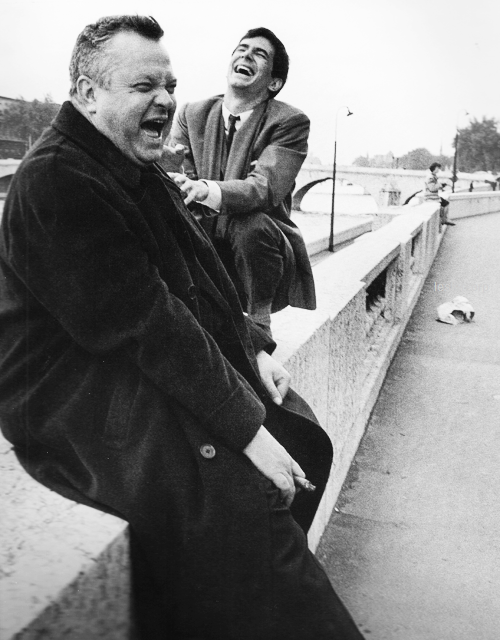 Orson Welles & Anthony Perkins