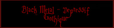 Black Metal, depressif And gothik Musik !